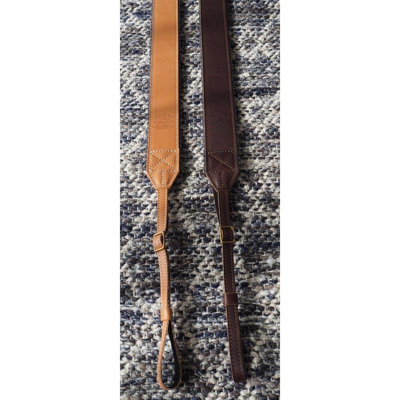 THE SUPERIOR LABOR / leather camera strap