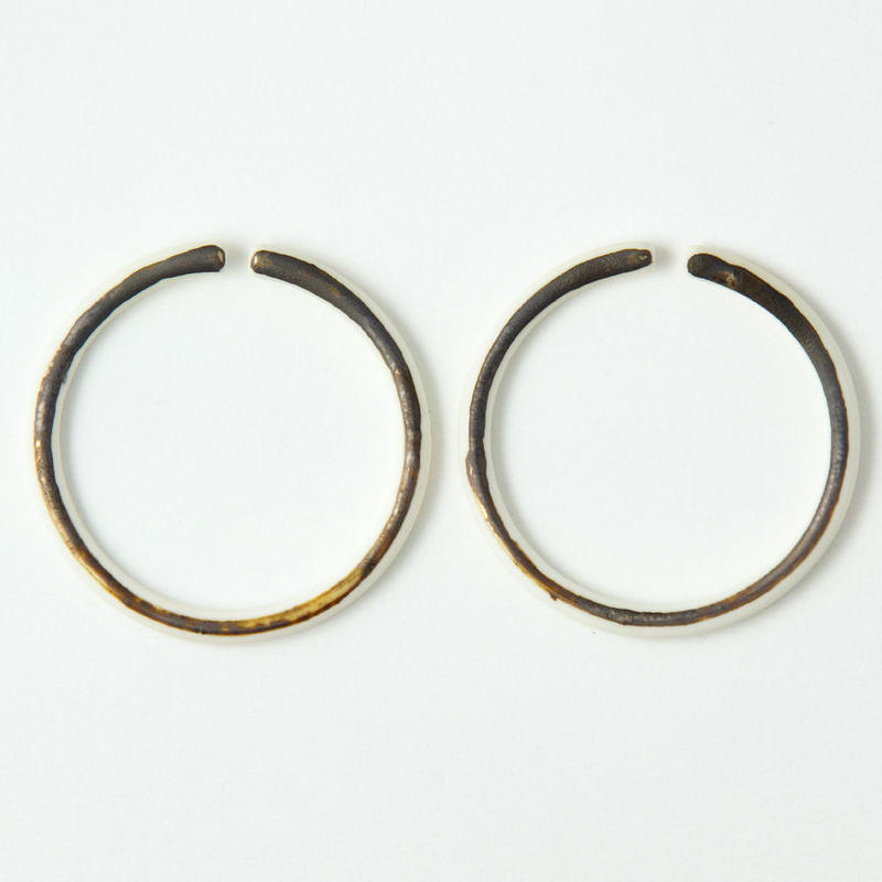 THIS SIDE   Earrings M Bronze