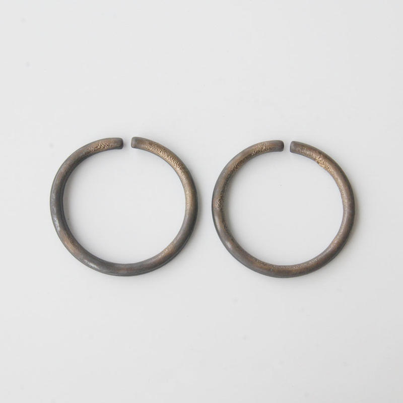THIS SIDE BLACK  Earrings M Bronze