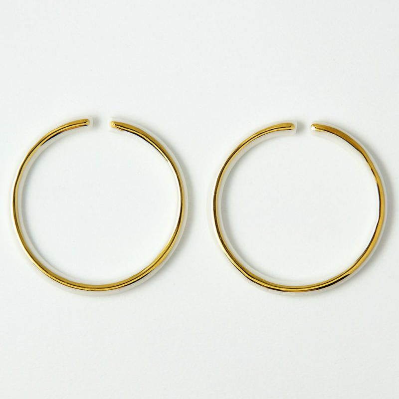 THIS SIDE  Earrings M Gold