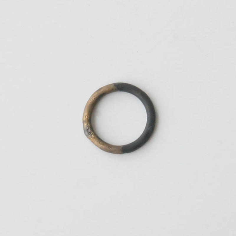 THIS SIDE BLACK  Ring Bronze