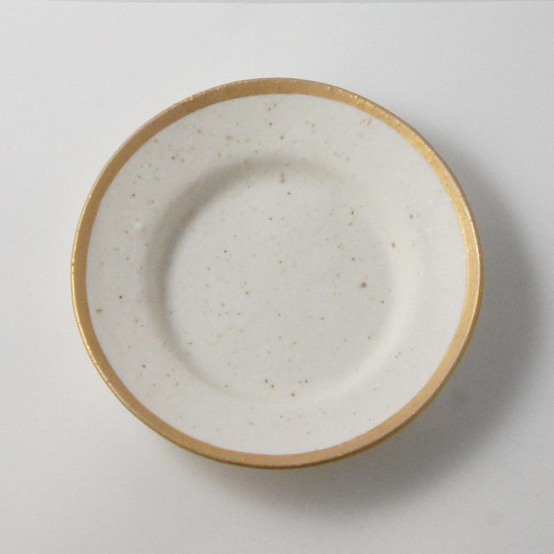 MY DISH Round Plate Gold 24cm