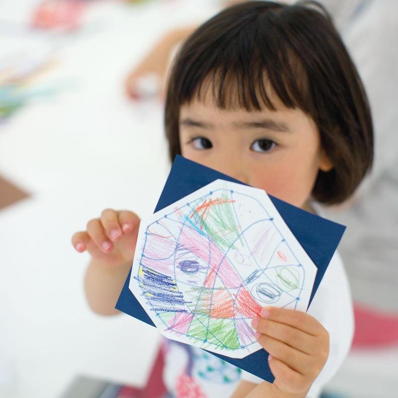 2017/12/11開催 大人も子どももアート感覚を活性化させよう!臨床美術で脳が目覚めるお絵かき教室
