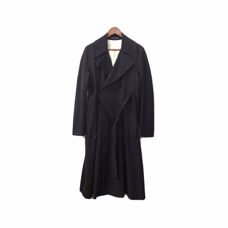 Yohji Yamamoto +NOIR - Wool Trench Coat (size - 1) ¥36000+tax