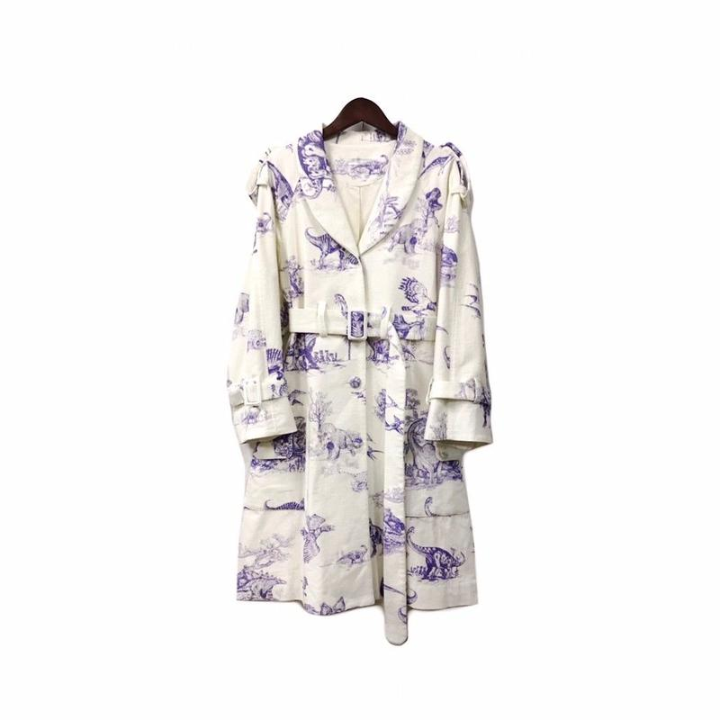 apato. - Graphic Long Coat (size - F) ¥15000+tax