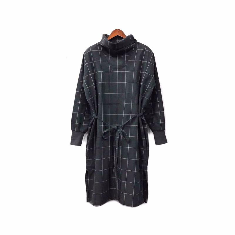 YANTOR - Check Design One piece (size - S) ¥22000+tax