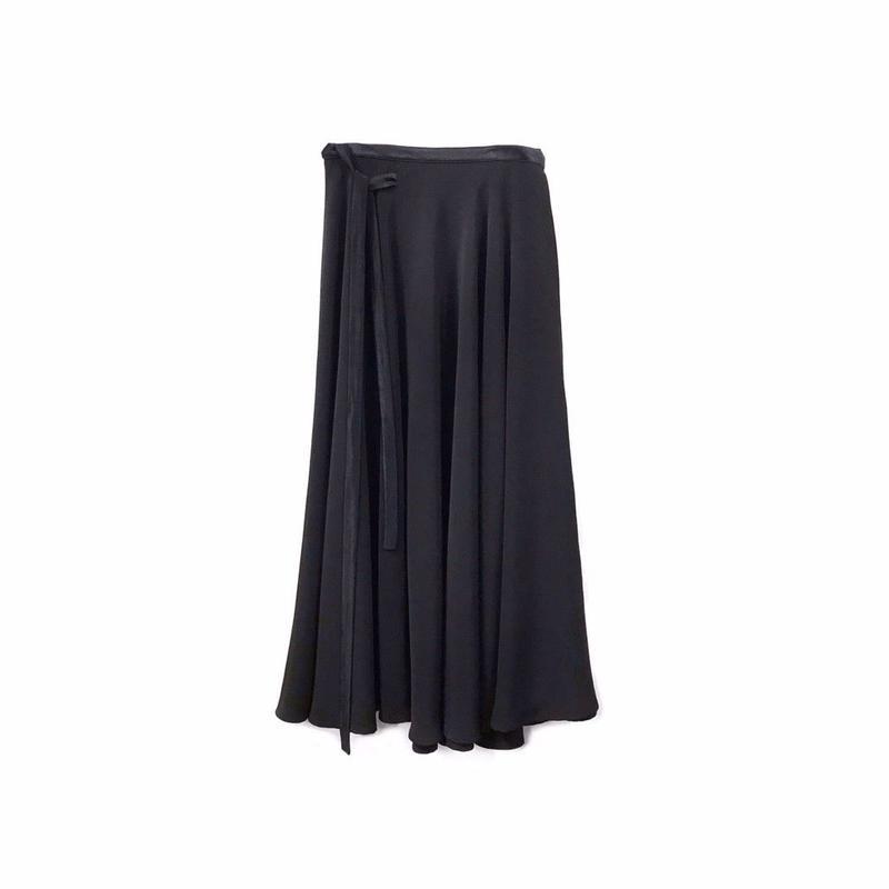 JEANPAULKNOTT - Long Flared Wrap Skirt (size - 1) ¥18000+tax