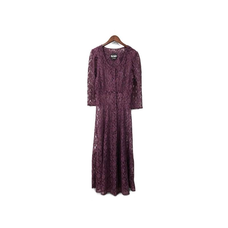 USED - Lace Long One-piece ¥12500+tax