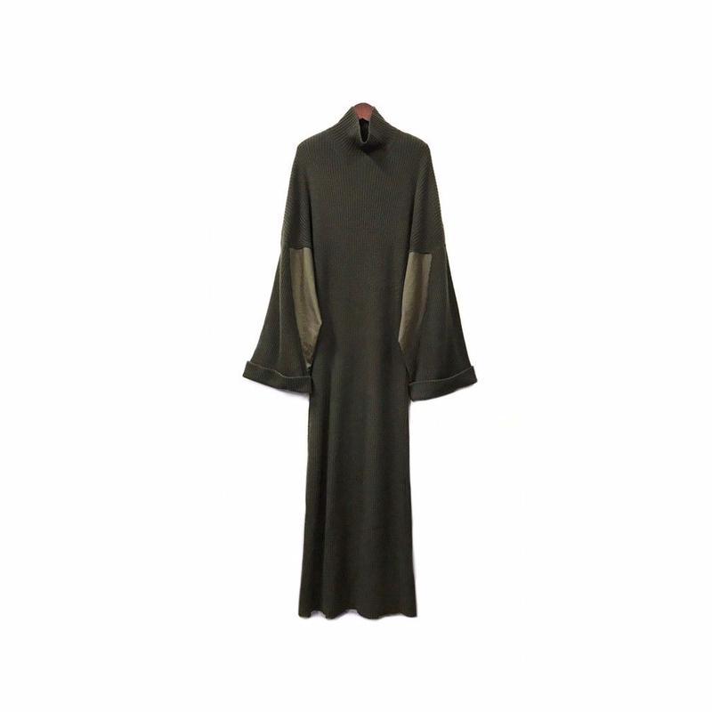 Yohji Yamamoto - Knit Design Long One-piece ¥22000+tax