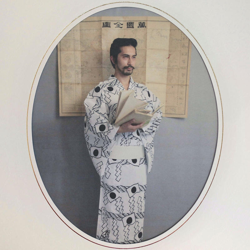 月影神社の浴衣