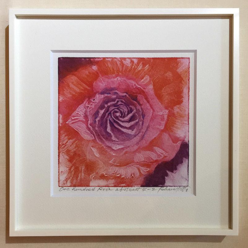 """アートプリント・シリーズ """"One hundred rose - 018 Abstract 4"""""""