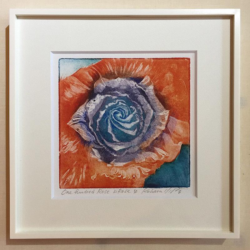 """アートプリント・シリーズ """"One hundred rose - 019 Abstract 5"""""""
