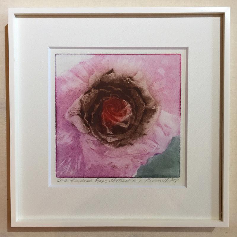 """アートプリント・シリーズ """"One hundred rose - 020 Abstract 6"""""""