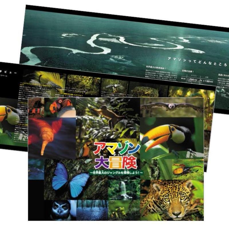 映画「アマゾン大冒険~世界最大のジャングルを探検しよう!~」パンフレット