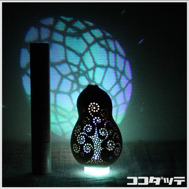 ひょうたんライト015【命樹/ホワイト】