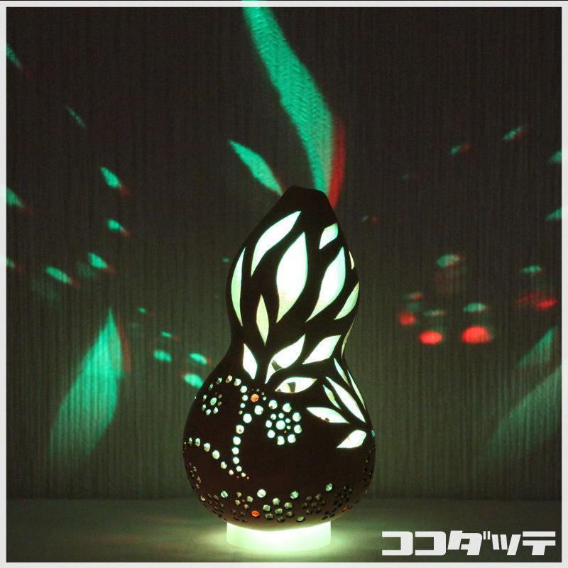 ひょうたんライト008【花】