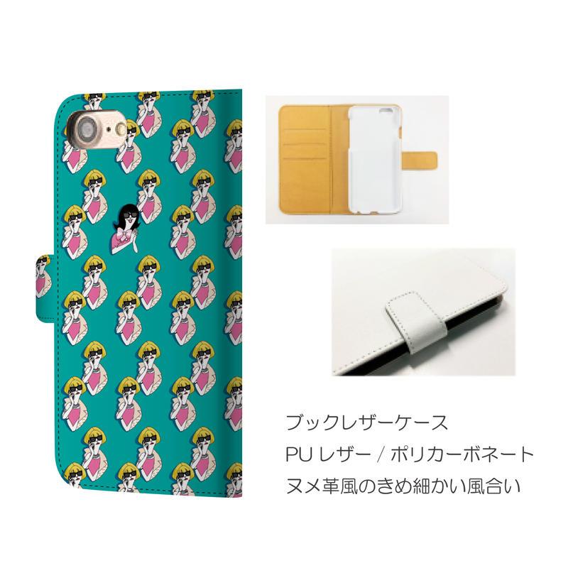 monanas iPhone 手帳型[Anna TOKIDOKI Junko]