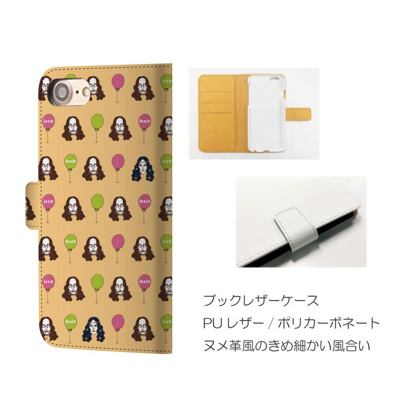 monanas iPhone 手帳型 [jhonTOKIDOKI yoko]