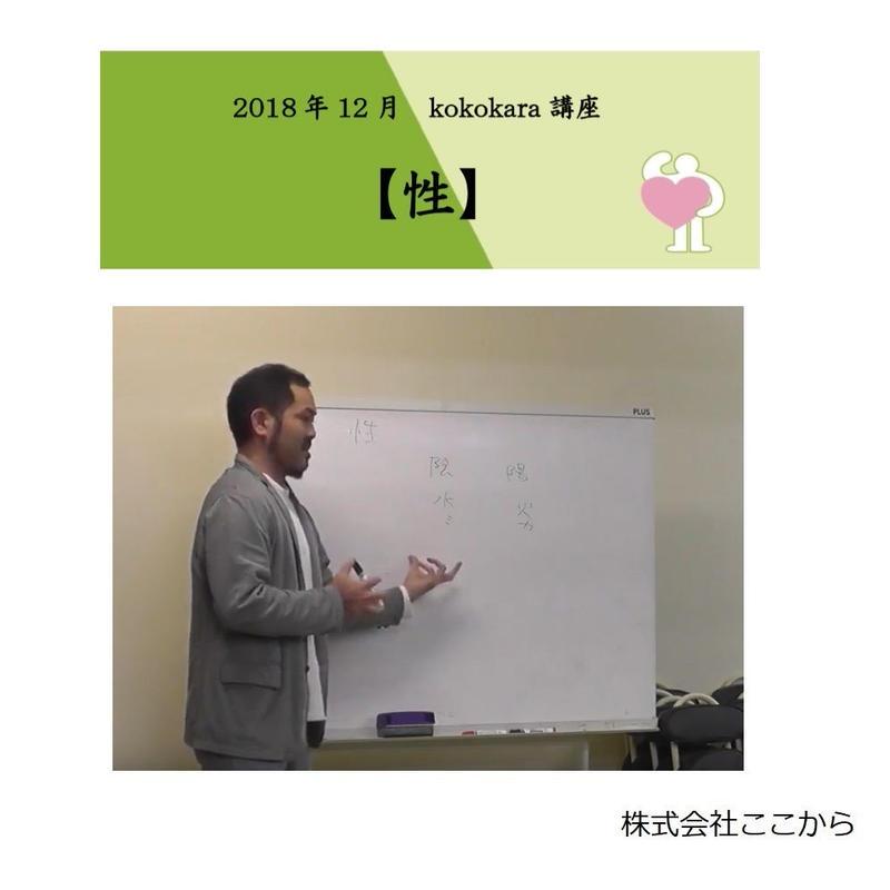 性(2018年12月kokokara講座)