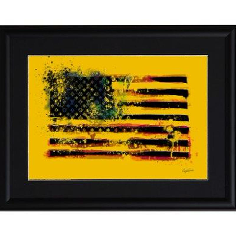 A4 ポスターフレームセット 【USA Flag】