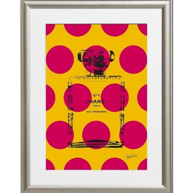 A4 ポスターフレームセット 【 Big Dots No.5  】