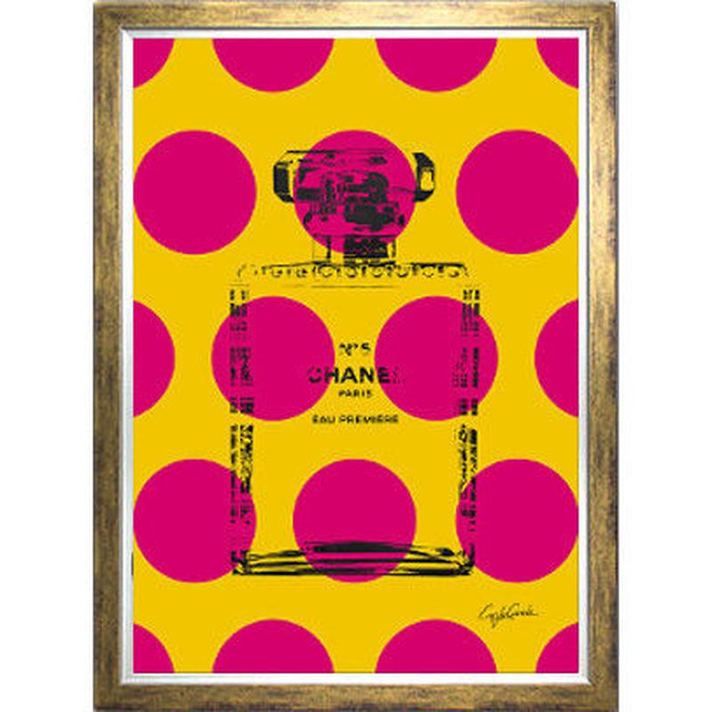 A1 高級ポスターフレームセット 『 レグルス 』 【 Big Dots No.5  】