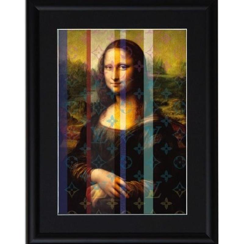 A4 ポスターフレームセット  【 MONA LISA ART #er02 】