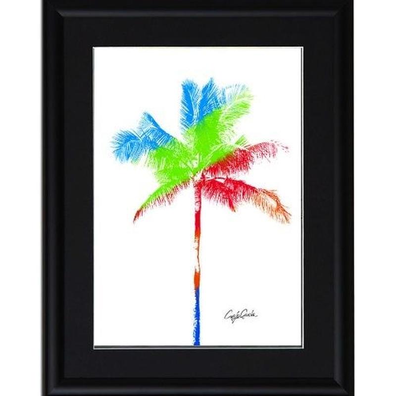 A4 ポスターフレームセット 【 One palm tree 】