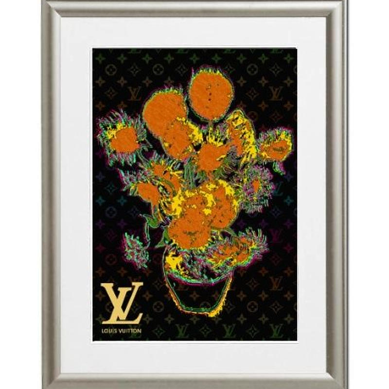 A4 ポスターフレームセット 【Van Gogh Sunflowers #sh11 】