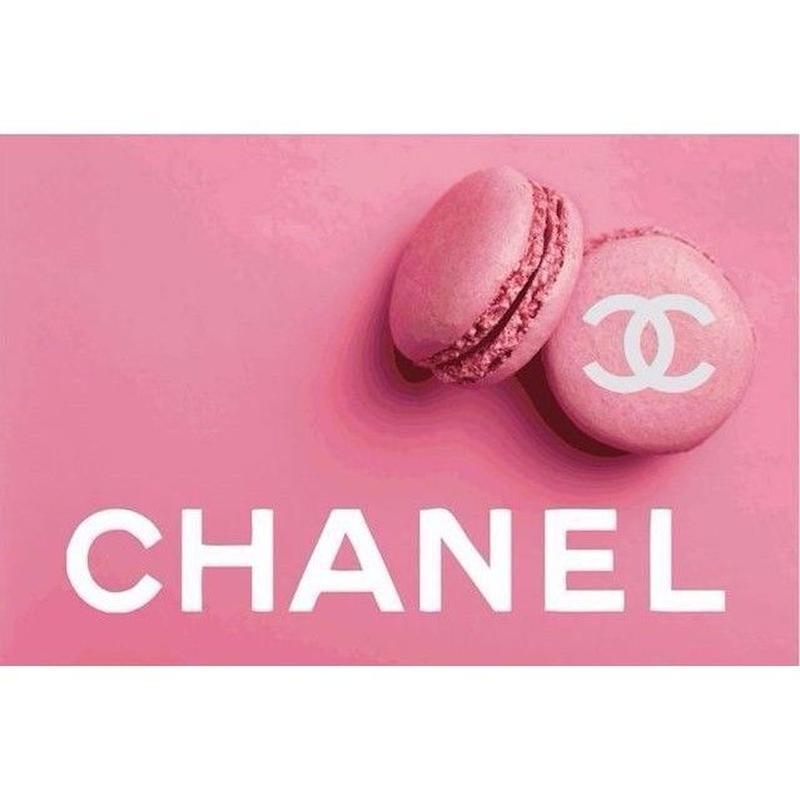 キャンバス410×273×D20mm  【 Pink Macaron #yg14 】