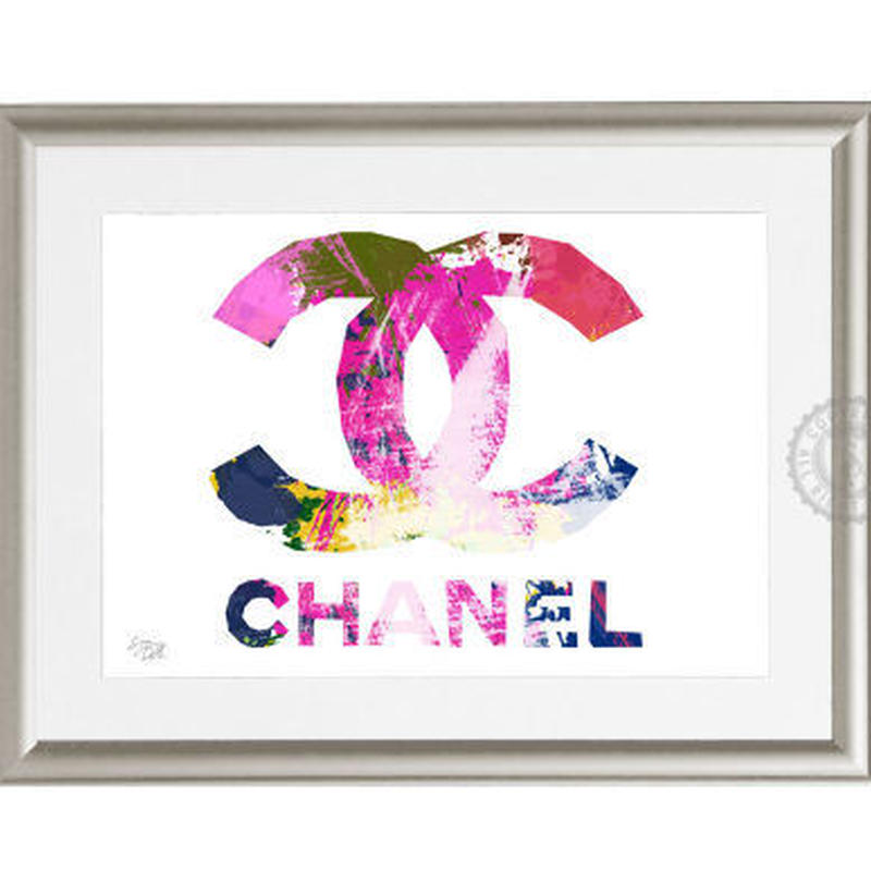 A4 ポスターフレームセット  【 CHANEL paint #hi19 】