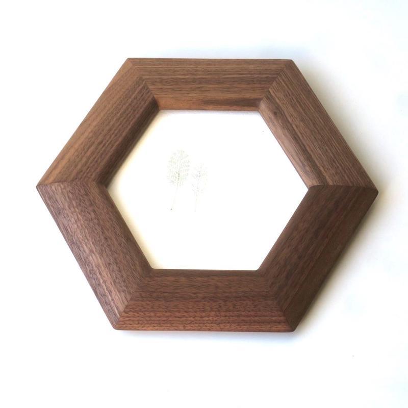 【 若い衆シリーズ】6角形のフレーム  S  限定1個 武内舞子
