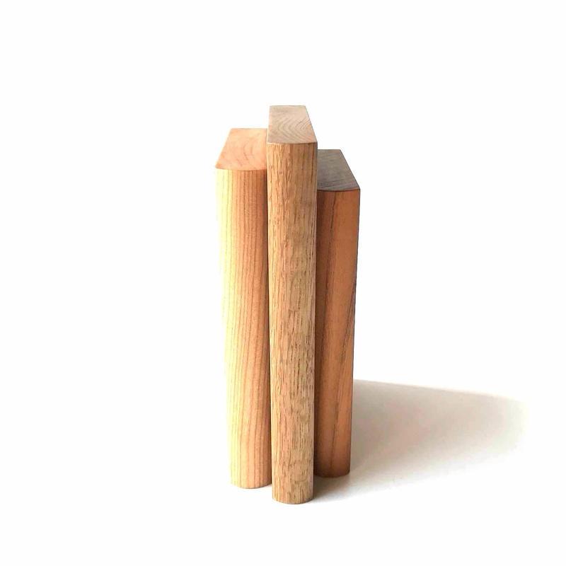 【若い衆シリーズ】Book stand(oakx1/cherryx1/欅x1) 限定1個 平塚剛史