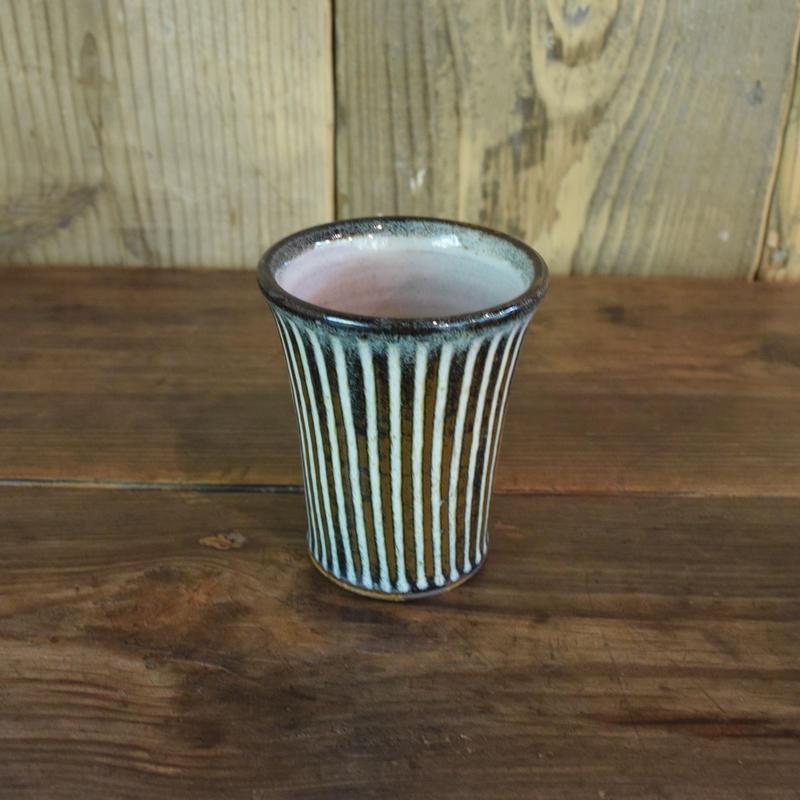 フリーカップ 鎬 海鼠 / 湯町窯 A329