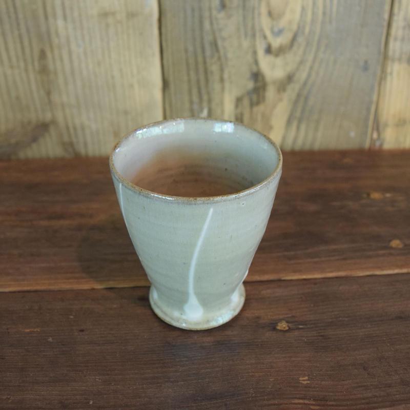 フリーカップ 白 / 福光焼  D305