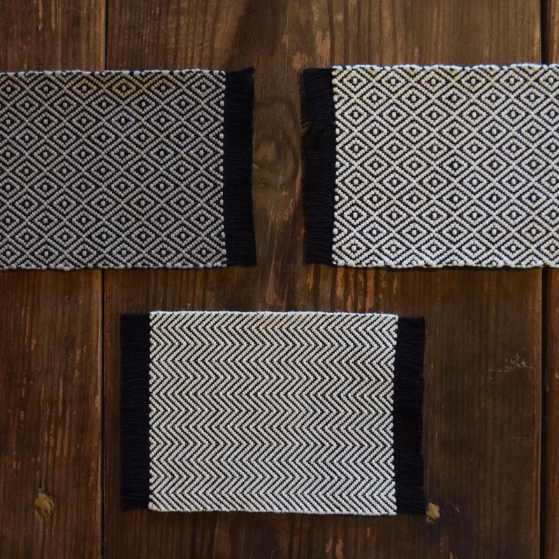 綾織コースター / 工房ゆみはま G050