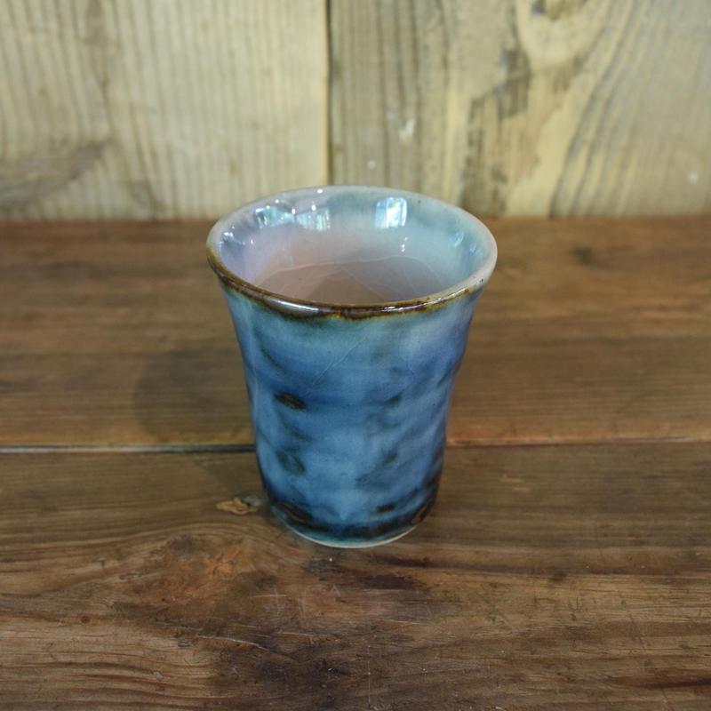 フリーカップ 小 呉須 / 袖師焼 B319