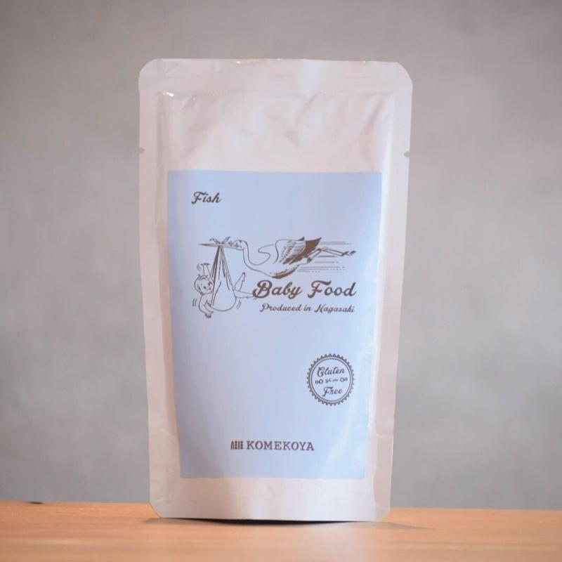 米粉の離乳食 白身魚