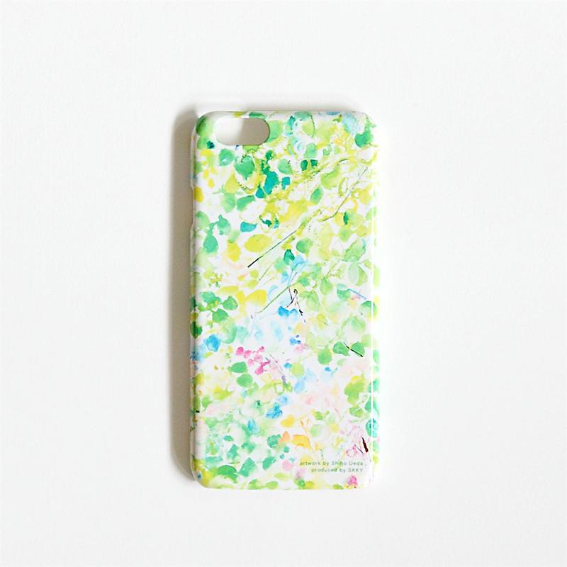 植田志保  iPhone 6/6sケース / Green