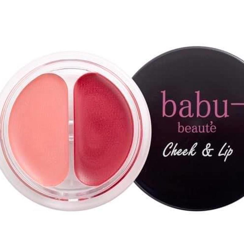 【babu-】チーク&リップ