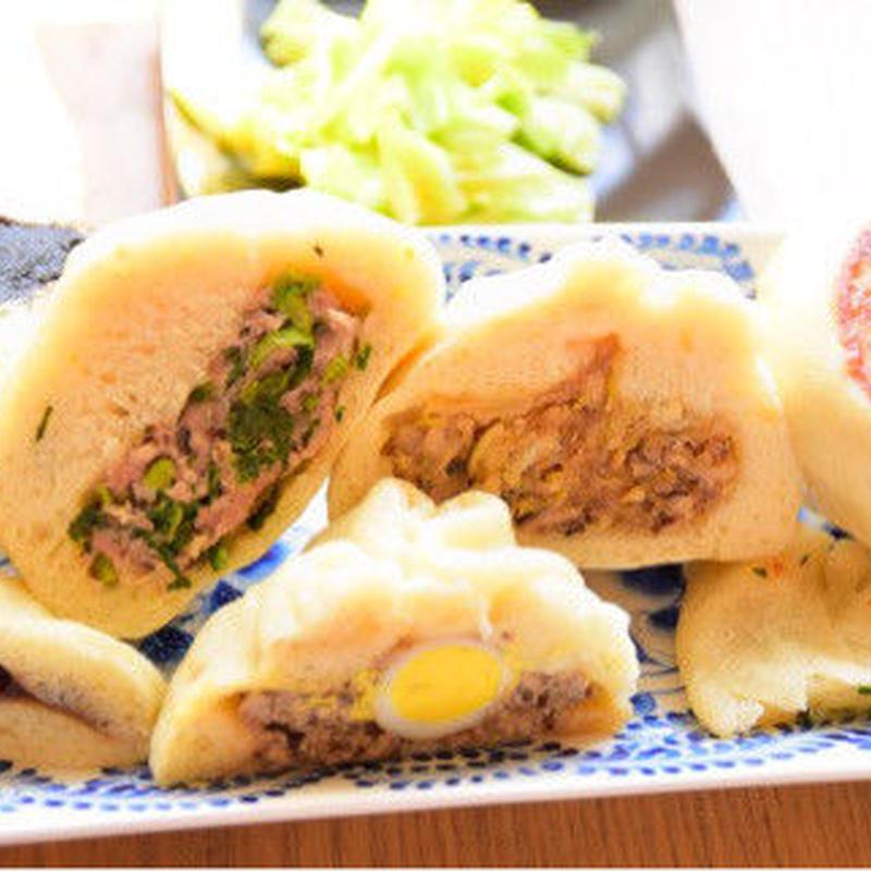 【動画講座】お野菜たっぷり青菜まん&絶品肉まん