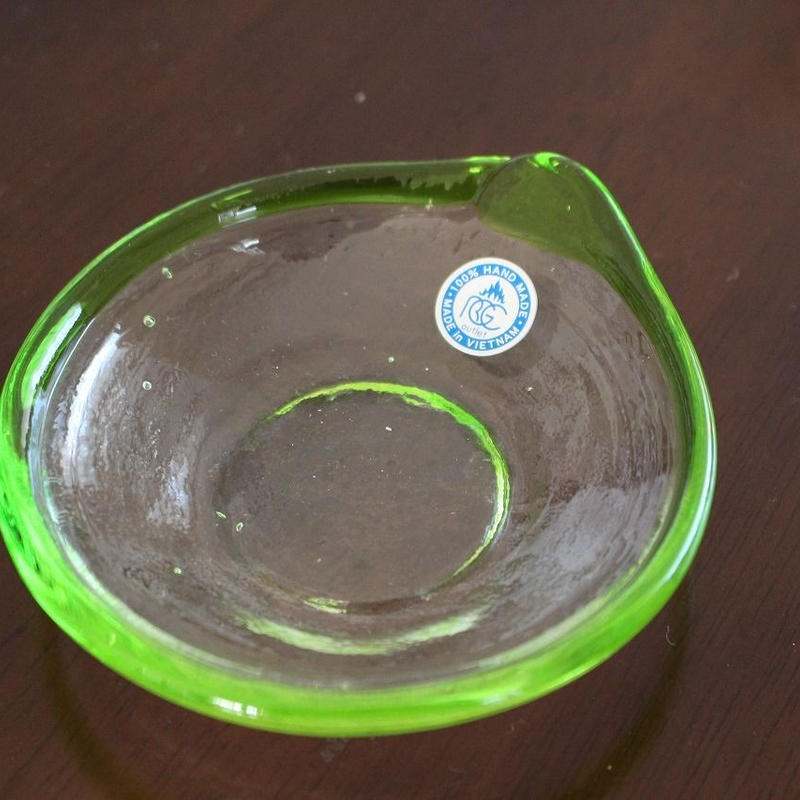 沖縄ガラス 小皿