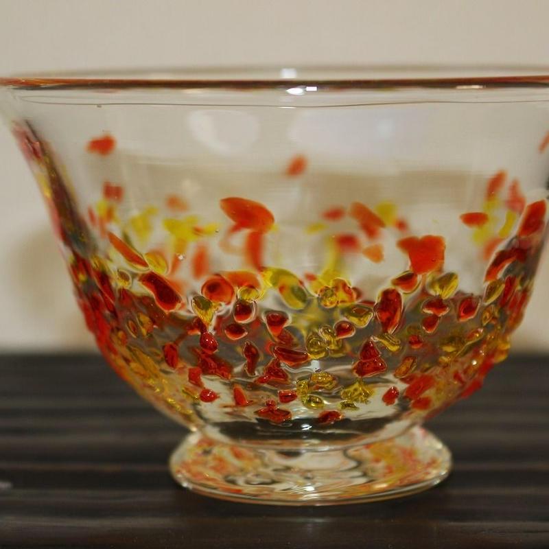 沖縄ガラス カレットダイ付きコバチ