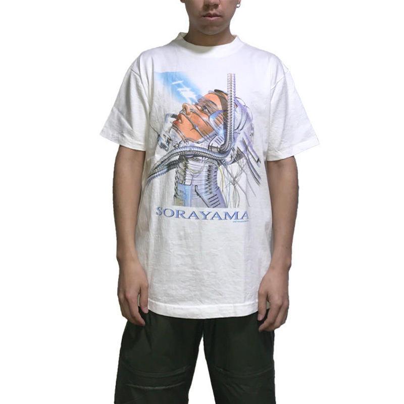 "【USED】90'S HAJIME SORAYAMA  T-SHIRT ""THE GYNOIDS"""