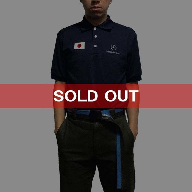 【USED】MERCEDES-BENZ POLO SHIRT WITH JAPAN PATCH