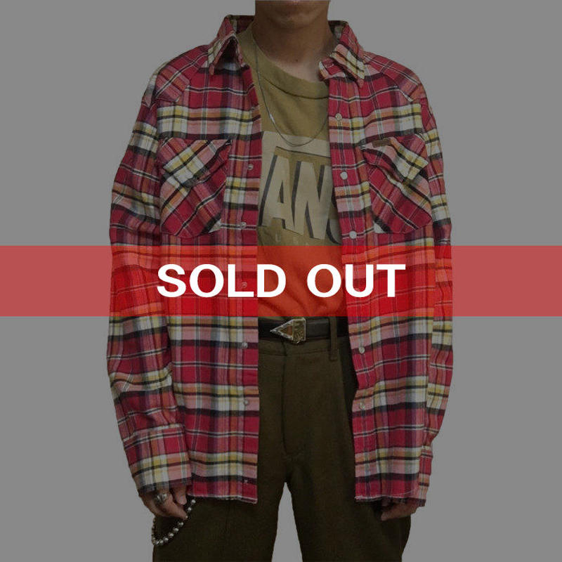 【USED】CARHARTT CHECK SHIRT