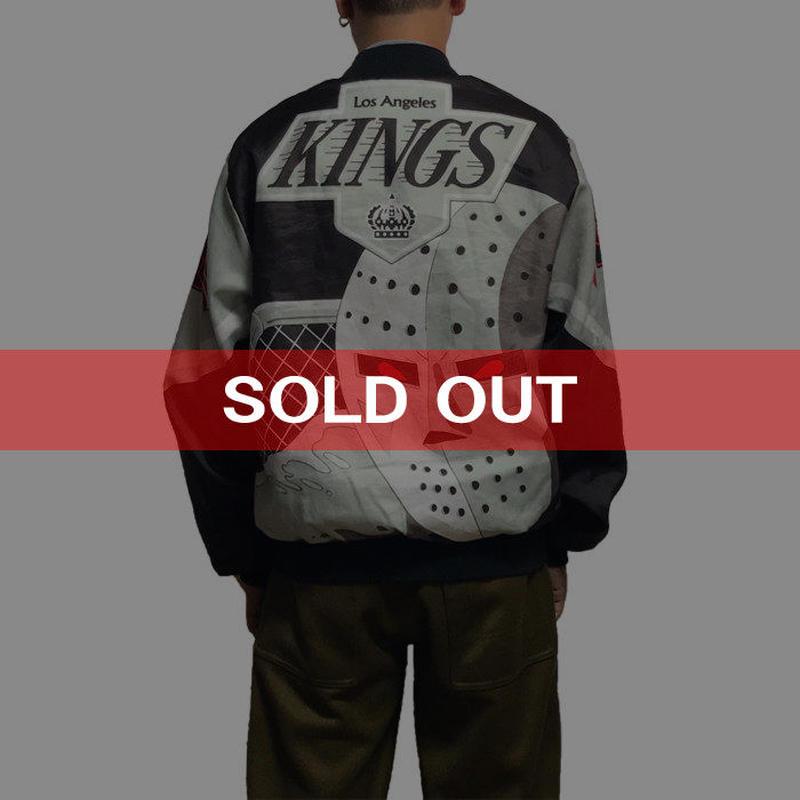 【USED】90'S CHALK LINE NHL LOS ANGELES KINGS BLOUSON