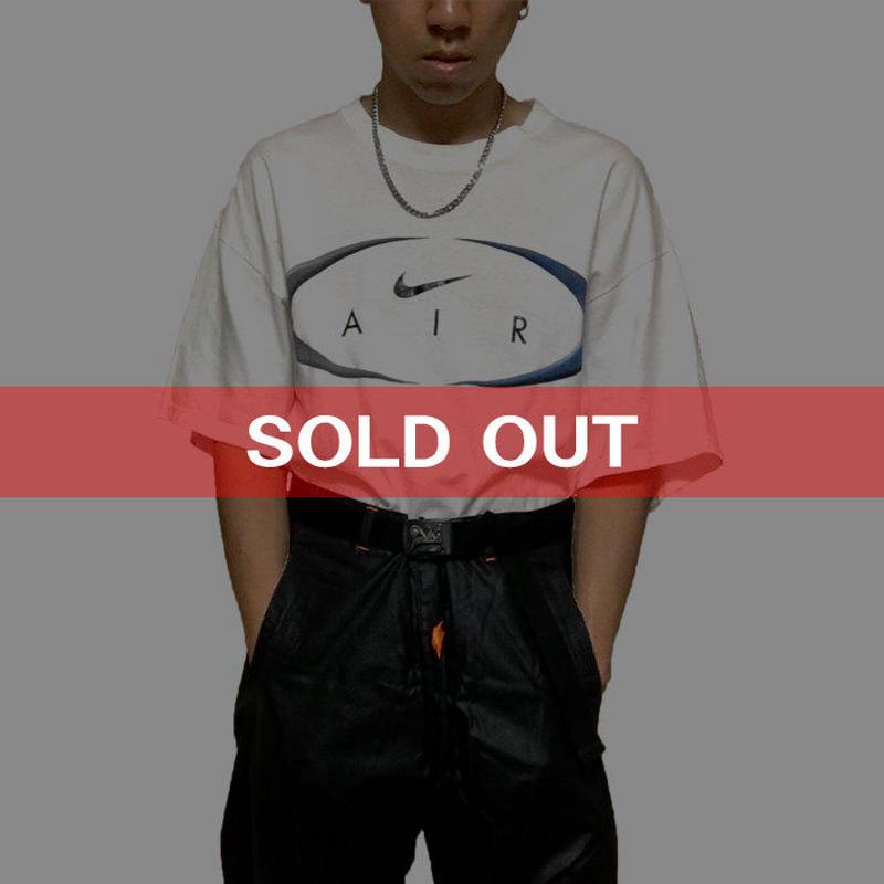 【USED】90'S  NIKE SWOOSH AIR LOGO T-SHIRT
