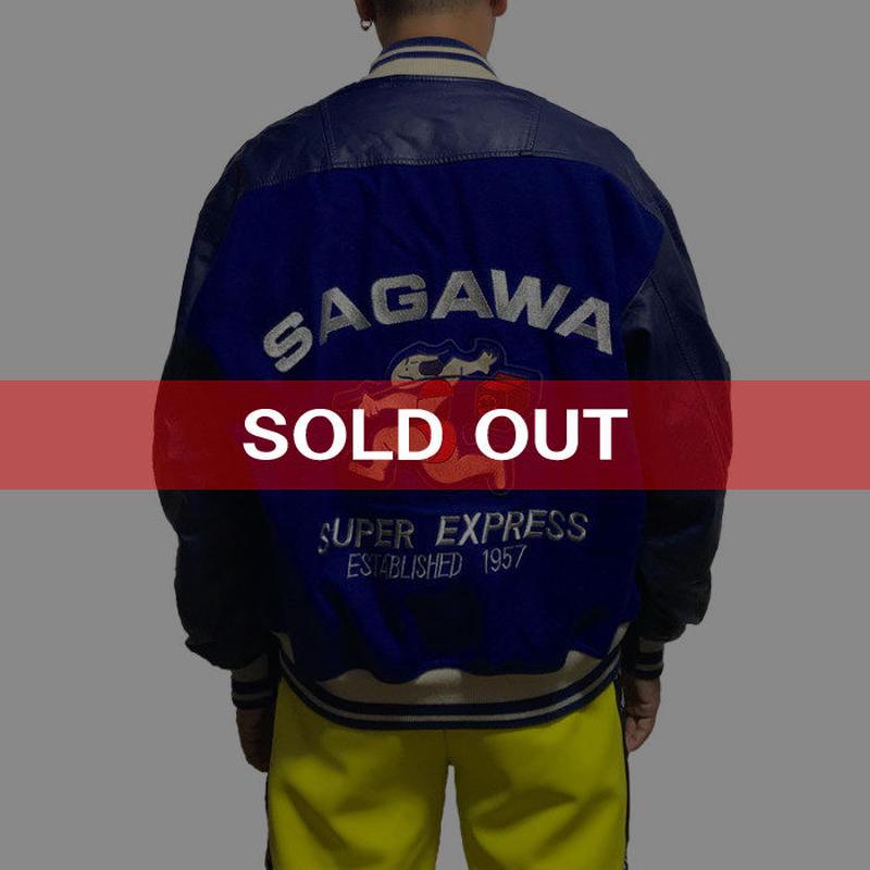 【USED】90'S SAGAWA STADIUM JACKET