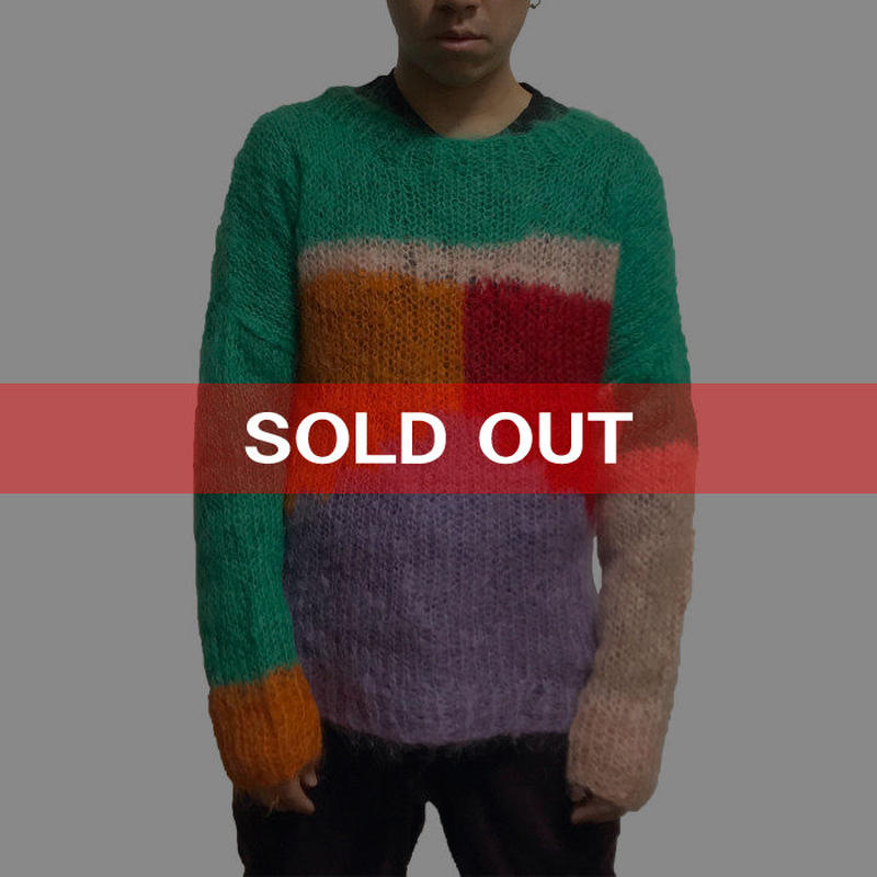 【USED】90'S WORLD CLASSICS MOHAIR SWEATER